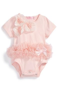 Popatu+Floral+Tutu+Bodysuit+(Baby+Girls)+available+at+#Nordstrom