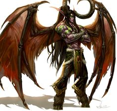 Demon Hunter Illidan Stormrage by SiaKim on deviantART
