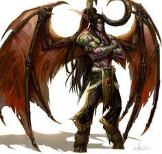 Demon Hunter Illidan Stormrage by SiaKim on deviantART