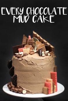Every Chocolate Mud Cake | We Made Woolies Mud Cakes Look Fucking Fancy