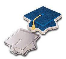 Topping Off Success Graduation Mortarboard Cap Cake Pan Wilton