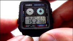 Casio Digital, Digital Watch, Retro Watches, Casio Watch, Twins, Universe, Tech, Japanese, Accessories