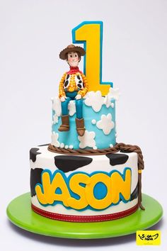 54 Trendy Ideas For Toys Story Cake Ideas Birthday Parties Woody Birthday Parties, Toy Story Birthday Cake, 2 Birthday, Birthday Ideas, Birthday Cakes, Bolo Toy Story, Toy Story Baby, Toy Story Theme, Cumple Toy Story