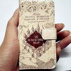 Harry Potter – Marauder's Map Wallet Case For Apple iPhone 4 - 4s