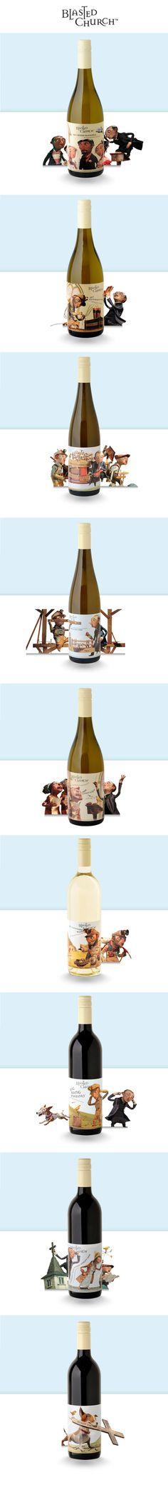 Blasted Church ™ Cuando unas botellas cuentan historias - taninotanino ® vinos inteligentes ®