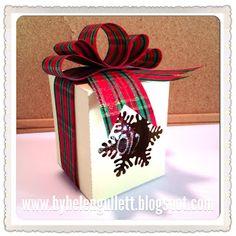 Ornament box #silhouette #cameo