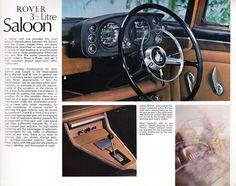 Rover 3.5 Litre Brochure 1967