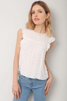 Blusa smanicata - Camicie & bluse - Abbigliamento