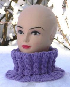 Knit Or Crochet, Crochet Scarves, Crochet Hats, Neck Warmer, Beanie Hats, Knitting Patterns, Knitting Ideas, Cowl, Knitted Hats
