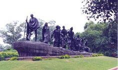New Delhi - Ghandi's salt march monument