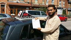 My student Sheikh Forhad Ahmed had passed his driving test today in Garrett Green test center today.
