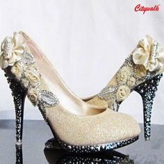 This #Diwali make a statement with these dazzling heels.  After all, dressing up @ Citywalk never goes out of #style