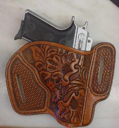 Modern Holsters, Custom Leather Gun Holsters - Leather by