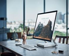 A Microsoft revelou oSurface Estúdioda Microsoft, um concorrente espetacular para o iMac.O novo computador desktop de 28 polegadas é um estúdio projetado para o processo criativo, voltado diretamente para artistas, arquitet