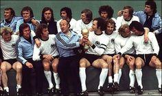 Alemania Campeon del Mundo 1974