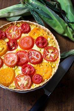 Tomato and Vildalia onion pie/tart. YUM. This isn't my recipe, but I've made Vidalia onion pie before and I am in love with it! Credit: The merry gourmet
