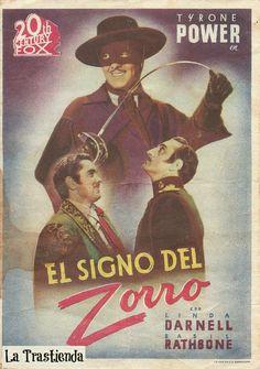 Programa de Cine - El Signo del Zorro (Doble)