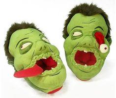 Zombie Slippers...hahaha