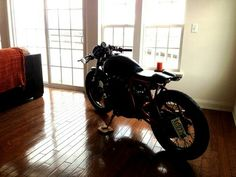 someday my office will be cool enough to have a motorcycle