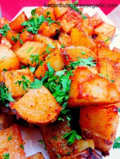 Barbecue Potatoes...a pretty quick and easy side dish that's super yummy!