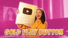 UNBOXING GOLD PLAY BUTTON (MAY MEET & GREET at GIVEAWAY!!) | Zeinab Harake Gold Play Button, Giveaway, Aliens, Videos, People, Meet, Buttons, Instagram, Youtube