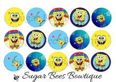 SpongeBob Bottle Cap Images