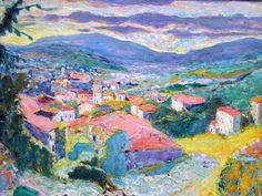 Paysage au Cannet by Pierre Bonnard