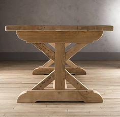 Salvaged Beam Rectangular Dining Table