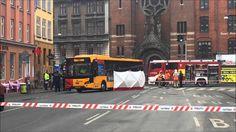 14.03.2016 Person dræbt under bus, København