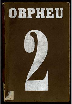 Capa do segundo e último número da revista Orpheu. O pai de Mário de Sá-Carneiro cortou o financiamento que permitiria a saída do nº3