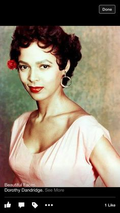 Classic beauty Dorothy Dandridge