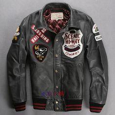 Avirex Leather Jacket                                                                                                                                                                                 More