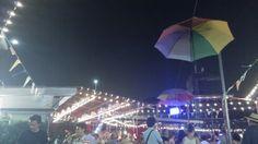 La Balera dell'Ortica in Milano #swing #lights #fun #umbrella