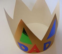 Father's Day Ideas - make him King for the Day. Fun tradition idea!