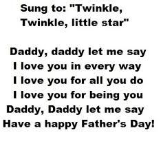 Image result for father's day poem from child