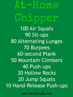 No equipment needed, workout you can do anywhere and it's a butt-kicker!