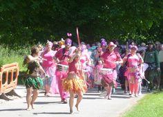 Leading the FAerie Parade for 3 Wishes Faerie Fest 2014 diddley dee da dee <3 https://www.facebook.com/3WishesFaeryFest?fref=ts