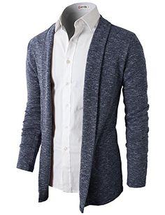 d36f1fbfd8fa Mens Shawl Collar Cardigan With No Button