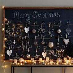 Sweet idea for an advent calendar