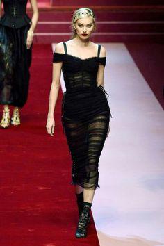 Dolce & Gabbana Spring 2018 RTW Milan