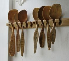 Hand Carved Spoons