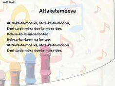 Meer Met Muziek - Groep 6 - 6-01 - Attakatamoeva