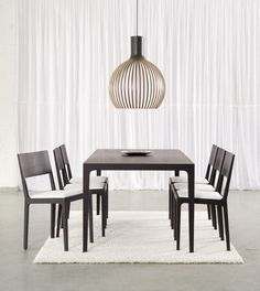 IN Collection. Design by Tapio Anttila and manufacturer Puulon Oy. www.puulon.fi