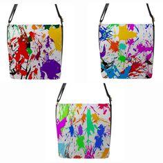 Shoulder Bags for Women Paint Splatter, Chameleon, Shoulder Bags, Painting, Ebay, Women, Women's, Chameleons, Shoulder Bag