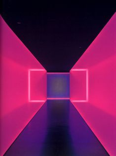 """This feels so hypnotic James Turrell """"The light inside"""" Houston museum of Fine Art James Turrell, Art Conceptual, Collage Kunst, Instalation Art, Licht Box, New Retro Wave, Photocollage, Hr Giger, Light And Space"""