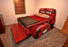 Chevy pickup bed bed