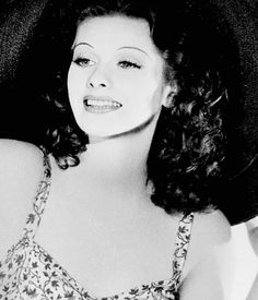 Lucille Ball with her natural brown hair color
