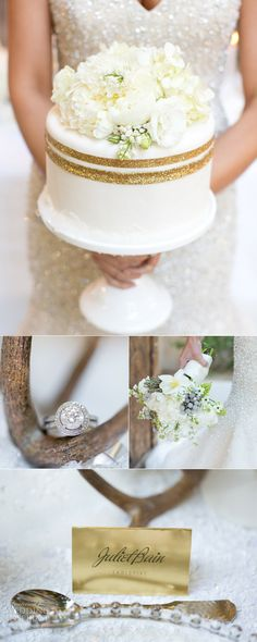 VERY SMALL WEDDING:  Allure Bridals Winter Wedding Inspiration — Sponsor Highlight | Wedding Inspirasi