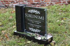 Lasinen hautakivi (malli Kajo-S) Glassy memorial stone / Grave stone glass (model Kajo-S) Malli, Memorial Stones, Art Quotes, Chalkboard, Memories, Beautiful, Corning Glass, Memoirs, Souvenirs