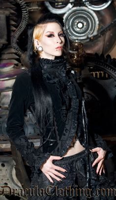 #Goth $114 from www.draculaclothing.com